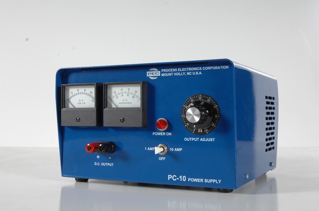 Pc 10 Process Electronics Corporation 24 Volt Power Supply Amp Single Output 0 To Amperes 12 Volts For Application Flexibility Compact Low Profile Design In Plant And Laboratory Use
